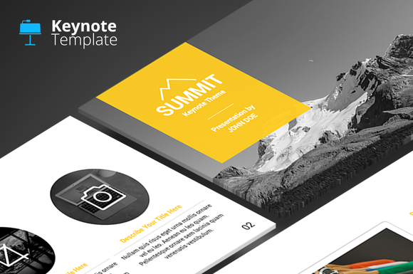 Summit Keynote Template