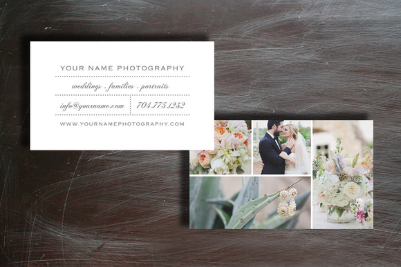 Photo Business Card Design Template