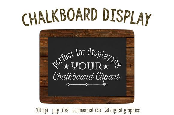 Chalkboard Product Mockup Frame