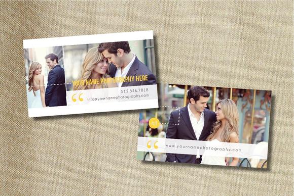 Photo Business Card Design