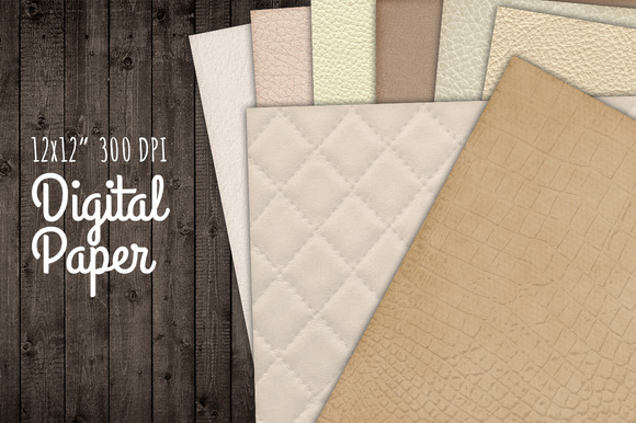 Digital Background Texture Paper Set