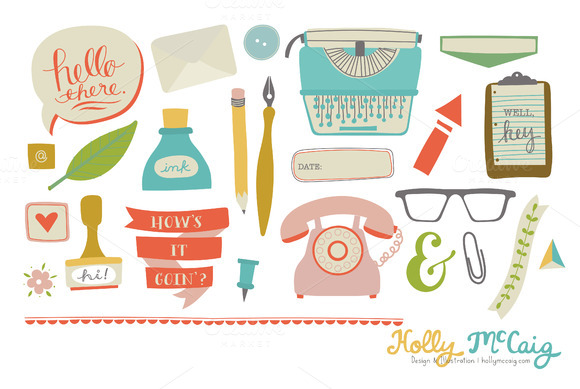 Office Space Business Clipart