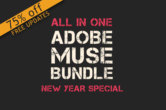 All In One Adobe Muse Bundle