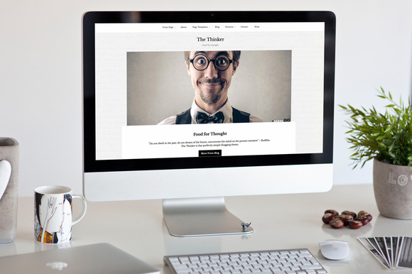 The Thinker Simple WordPress Theme