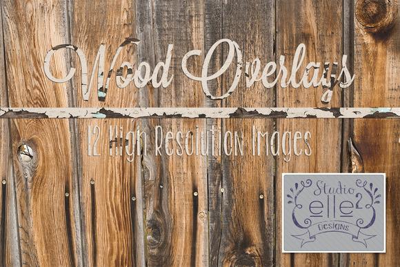 Wood Overlays Vol #1