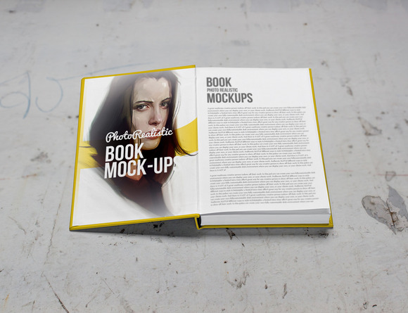 Book Mockup Photo Realistic 7