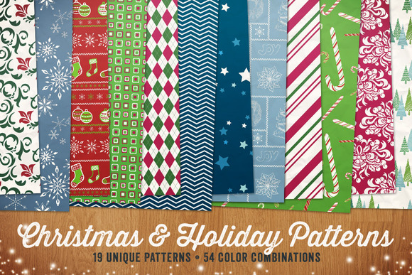 Christmas Holiday Patterns Vol 1