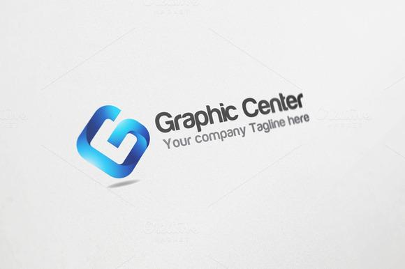 Graphic Center Logo Design