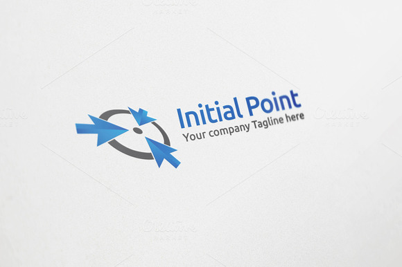 Initial Point Logo Design