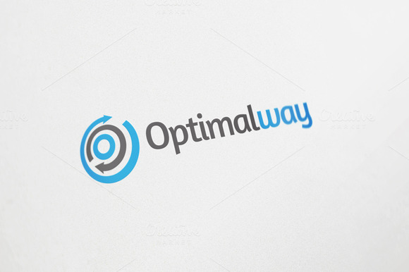 Optimal Way Logo Design