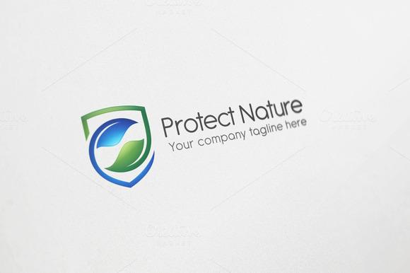 Protect Nature Logo Design