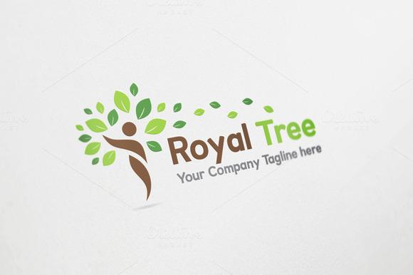 Royal Tree Logo Design
