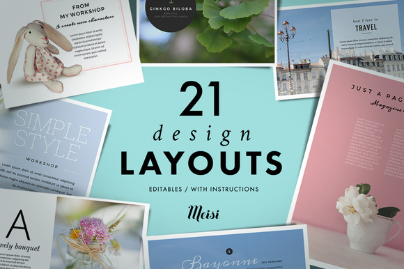 21 Design Layouts