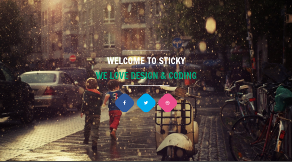 Sticky Creative One Page