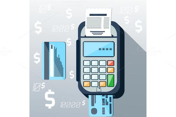 Cash Mashines Issues Receipt