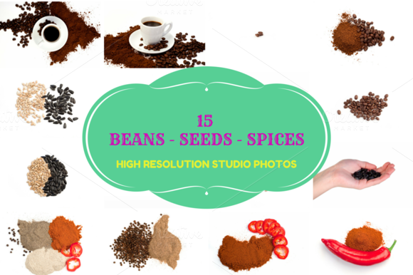 15Beans Seeds Spices Set
