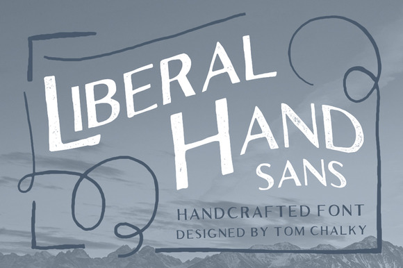 Liberal Hand Sans