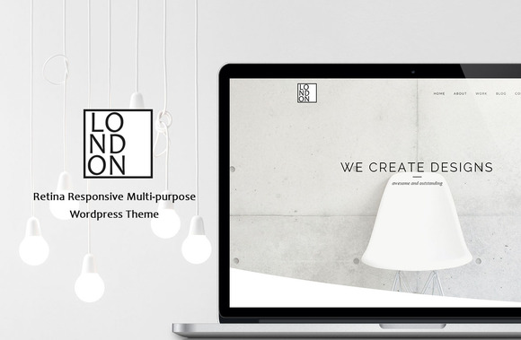 London Retina Wordpress Theme