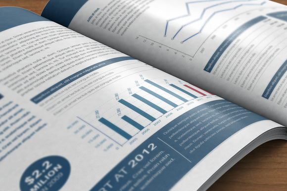 Corporate Bi-Fold Short Anual Report