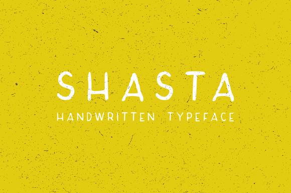Shasta Typeface