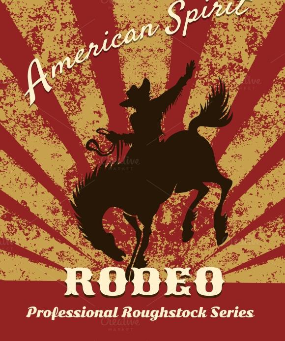 photoshop rodeo poster template  u00bb designtube
