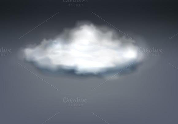 Realistic Grey Thundercloud