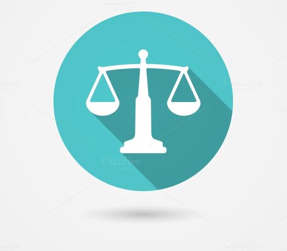 Scales Balance Icon Harmony Concept
