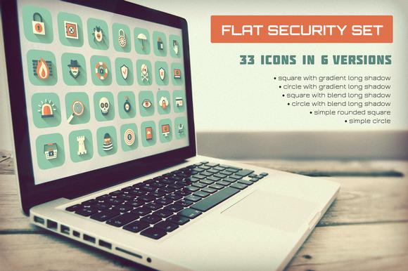 Flat Security Set