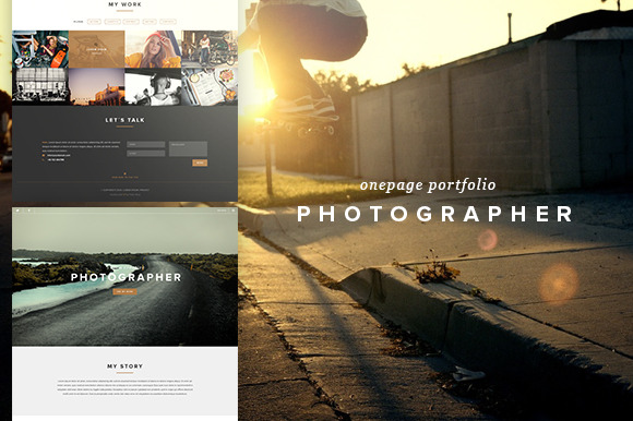 Photographer Creative PSD