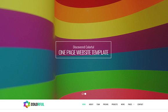 Colorful Multipurpose Template