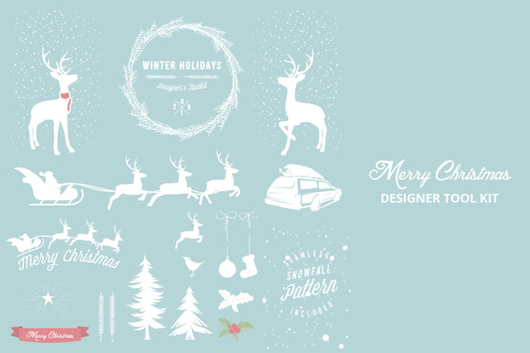 Winter Holidays Designers Toolkit