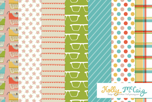 Office Digital Pattern Backgrounds