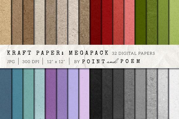 Kraft Paper Texture Pack Megapack