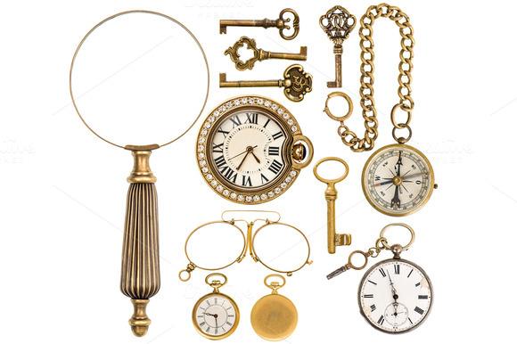Golden Vintage Accessories