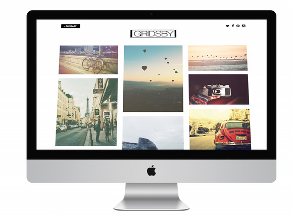 Gridsby Wordpress Portfolio Template