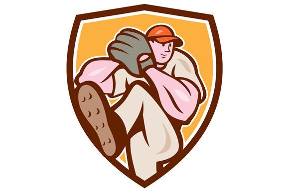 Baseball Pitcher Outfielder Leg Up S