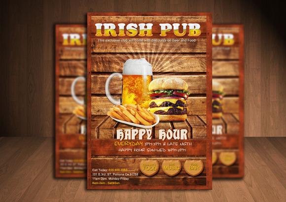 Your Irish Pub Flyer
