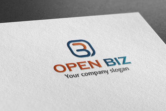 Open Biz Style Logo