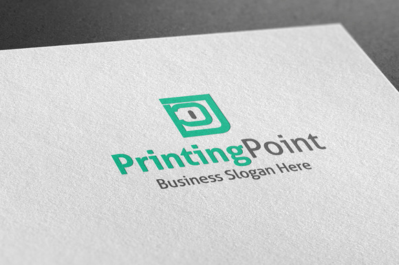 Printing Point Style Logo