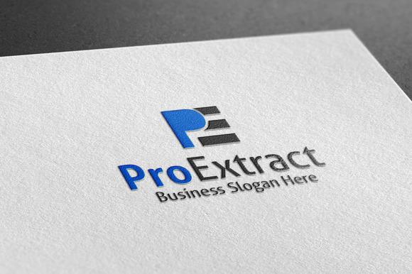 Pro Extract Style Logo