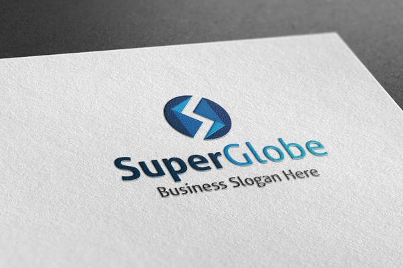 Super Globe Style Logo