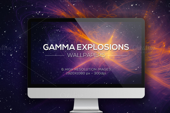 Gamma Explosions Wallpapers