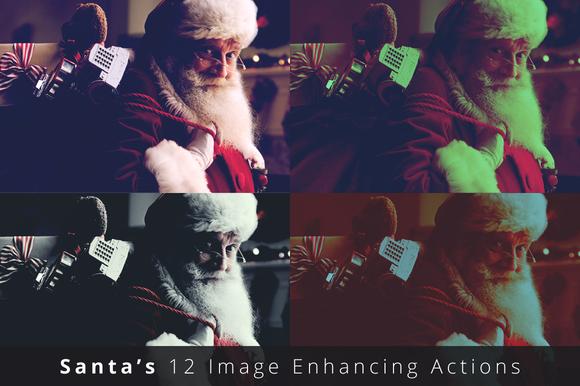 Santa S 12 Image Enhancing Actions