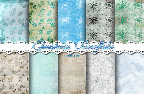 Christmas Snowflake Papers