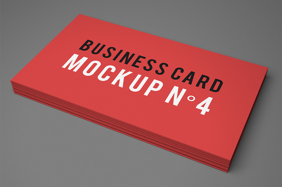 Business Card Mockup NЎг4