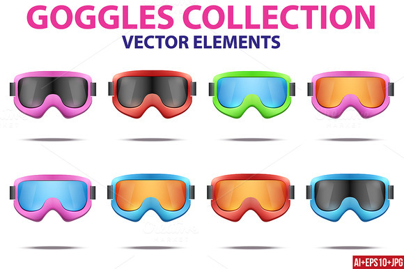 Big Kit Fashion SKI Winter Goggles