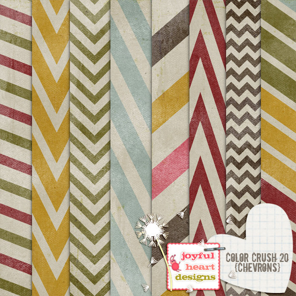 Color Crush 20 {chevrons}