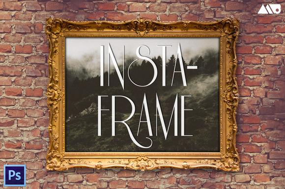 Insta-Frame Frame Mockup Kit