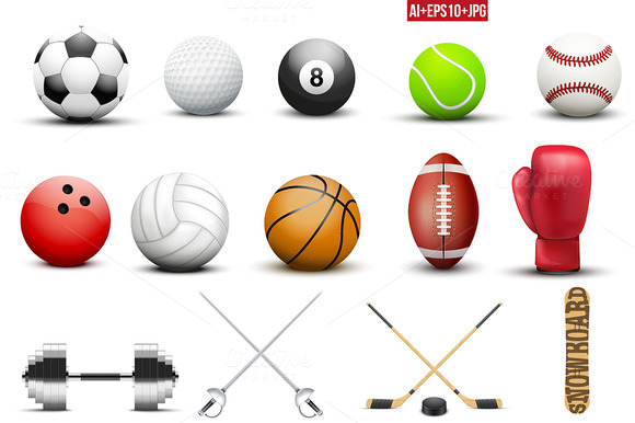 Mega Bundle Of Sports Equipment