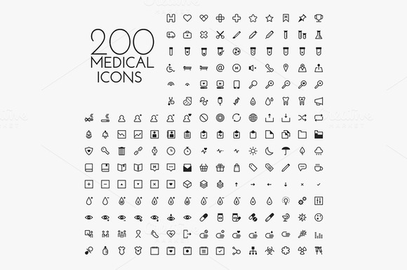 200 X Medical Icon